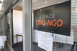 2017 Conférence générale Espace ONG