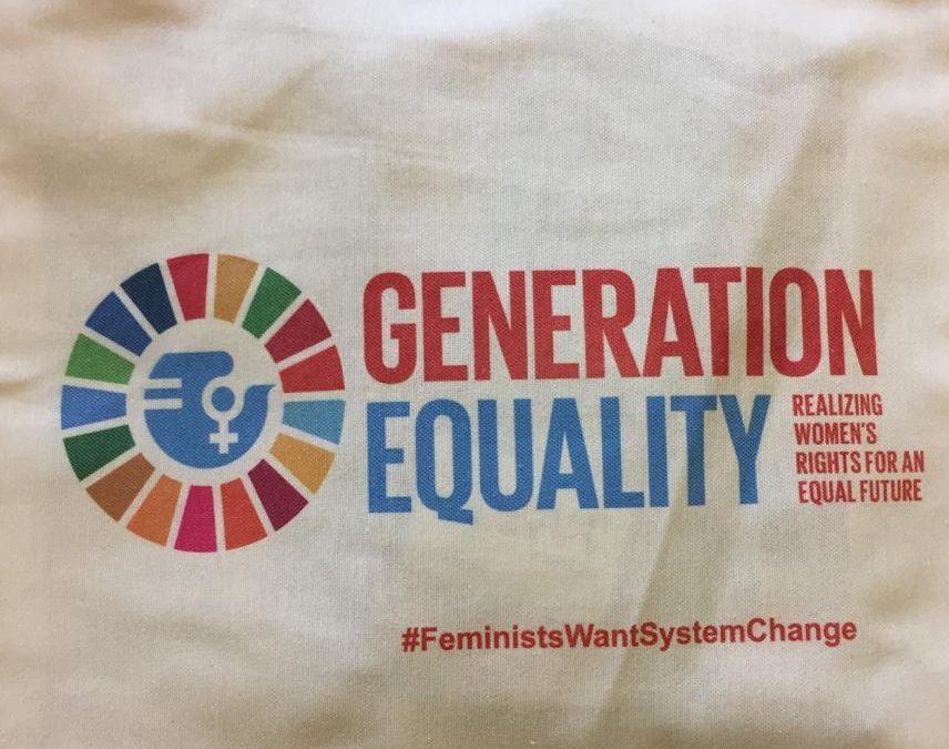 """Beijing + 25:Forum de la société civile """"Génération Egalité"""""""