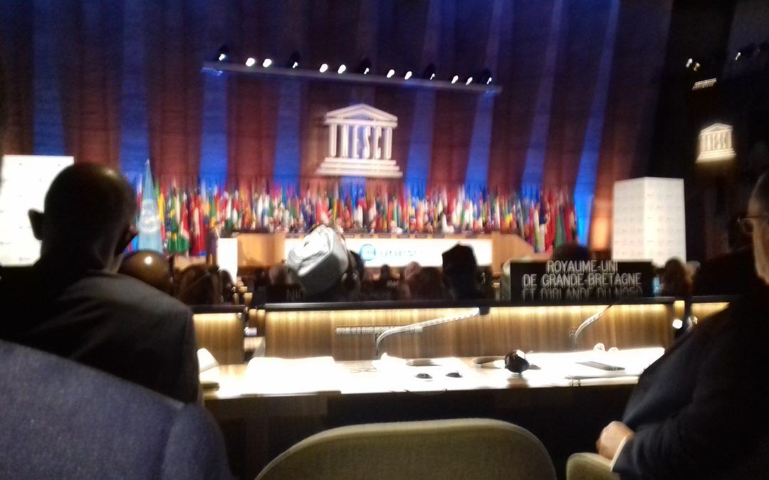 40è session de la Conférence générale de l'UNESCO (12-27 Novembre 2019)