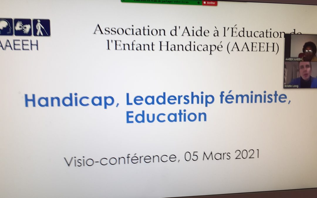 Handicap-Leadership Féministe-Education